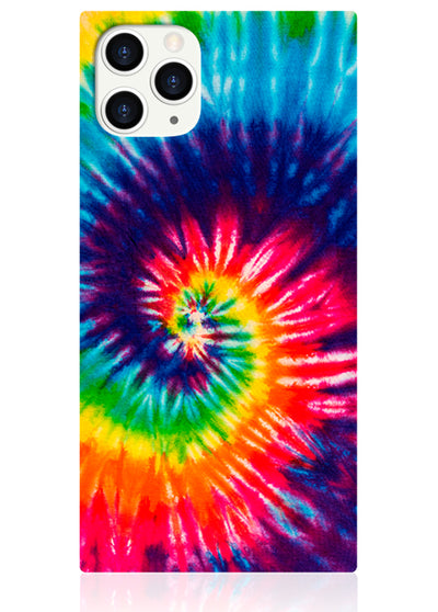 Tie Dye Square iPhone Case #iPhone 11 Pro Max