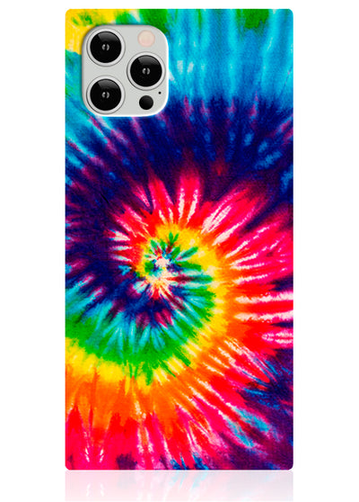 Tie Dye Square iPhone Case #iPhone 12 / iPhone 12 Pro