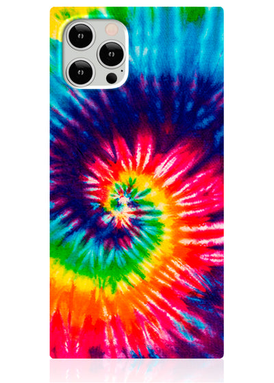 Tie Dye Square iPhone Case #iPhone 12 Pro Max