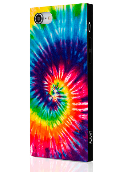Tie Dye Square Phone Case #iPhone 7/8/SE (2020)