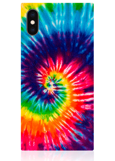 Tie Dye Square iPhone Case #iPhone X / iPhone XS