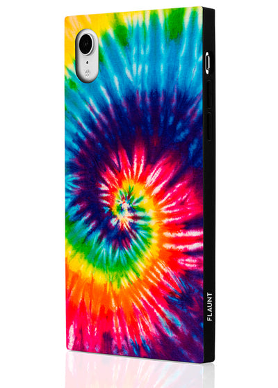 Tie Dye Square Phone Case #iPhone XR
