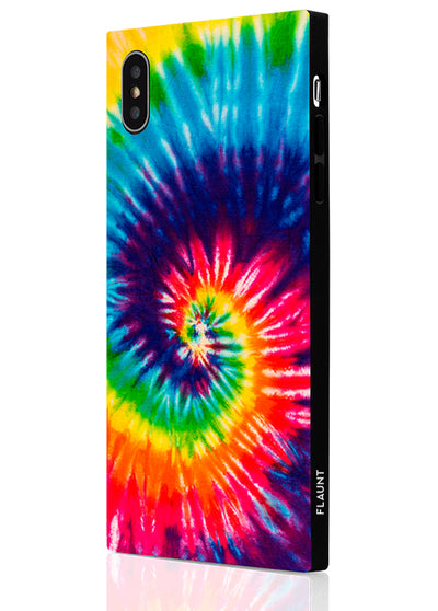 Tie Dye Square iPhone Case #iPhone XS Max