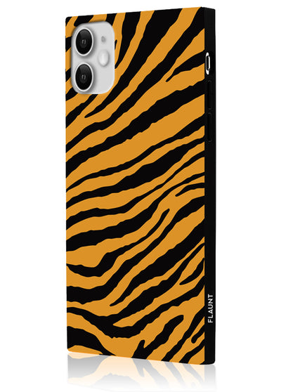 Tiger Square Phone Case #iPhone 11