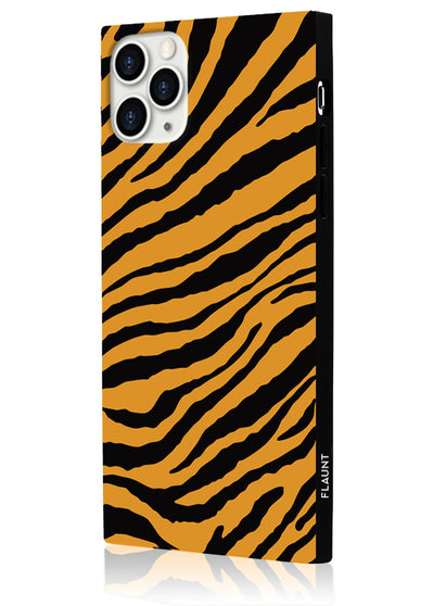 Tiger Square Phone Case #iPhone 11 Pro