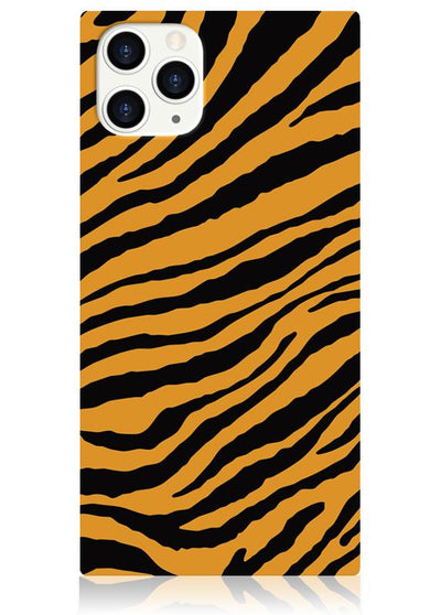 Tiger Square iPhone Case #iPhone 11 Pro