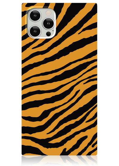 Tiger Square iPhone Case #iPhone 12 Pro Max