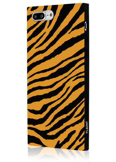 Tiger Square Phone Case #iPhone 7 Plus / iPhone 8 Plus