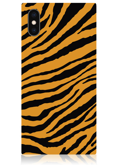Tiger Square iPhone Case #iPhone X / iPhone XS