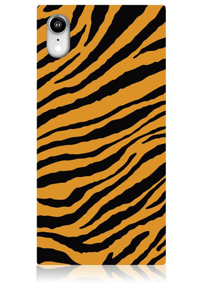 Tiger Square iPhone Case #iPhone XR