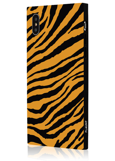 Tiger Square Phone Case #iPhone XS Max