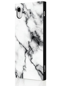 "[""White"", ""Marble"", ""Square"", ""Phone"", ""Case"", ""#iPhone"", ""XR""]"