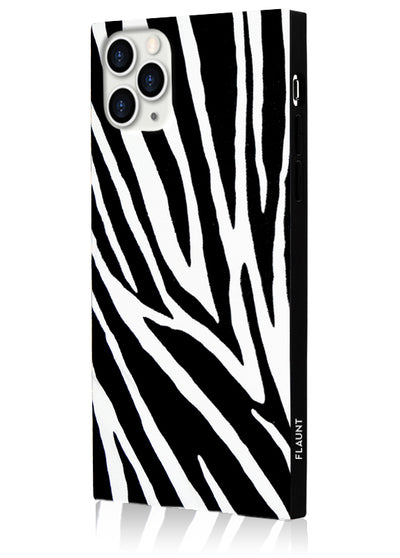 Zebra Square Phone Case #iPhone 11 Pro