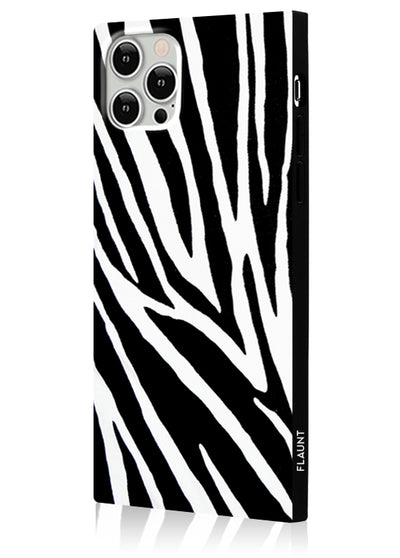 Zebra Square Phone Case #iPhone 12 Pro Max