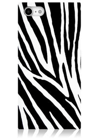 "[""Zebra"", ""Square"", ""iPhone"", ""Case"", ""#iPhone"", ""SE/8/7""]"