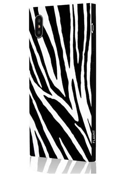 Zebra Square Phone Case #iPhone XS Max