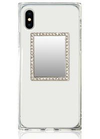 "[""Silver"", ""Rectangle"", ""w/"", ""Crystals"", ""Phone"", ""Mirror""]"