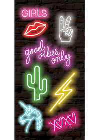 Neon StickerTags - Shop/Sticker Tags - iDecoz