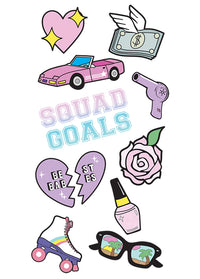 Squad Goals StickerTags - Shop/Sticker Tags - iDecoz
