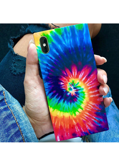Tie Dye Square iPhone Case #iPhone XR