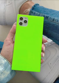 "[""Neon"", ""Green"", ""Square"", ""iPhone"", ""Case""]"