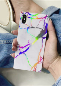 "[""Sonia"", ""X"", ""Fyza"", ""Holographic"", ""Marble"", ""Square"", ""iPhone"", ""Case""]"
