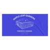 Retro Maple Leafs Gardens Beach Towel