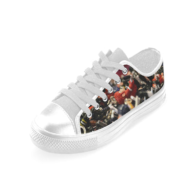 Bubble Hockey All Over Mens Canvas Shoes