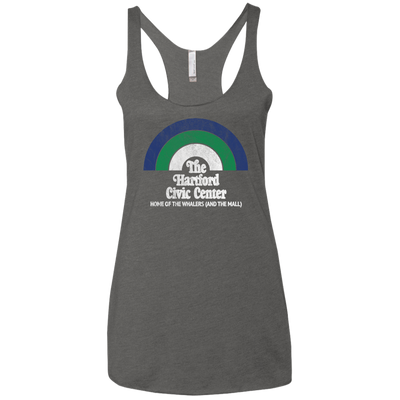 The Hartford Civic Center Ladies' Triblend Racerback Tank
