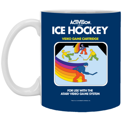 Retro Ice Hockey Coffee Mug