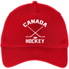 Canada Hockey Inspired Five Panel Twill Embroidered Dad Cap