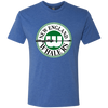 Retro New England Whalers Men's Triblend T-Shirt