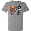 Retro Ron Hextall Strikes Twice Men's Triblend T-Shirt