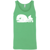 Retro Green Hartford Whalers Pucky Inspired Unisex Tank