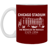 Retro Chicago Stadium Mug