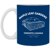 Maple Leaf Gardens Blue Mug