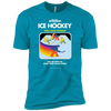 Retro Ice Hockey Premium Short Sleeve T-Shirt