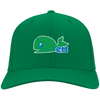 Retro Hartford Whalers Inspired Embroidered Twill Cap