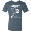 Retro Wax Packs Hockey Cards Men's Triblend T-Shirt