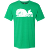 Retro Hartford Whalers Inspired Men's Triblend T-Shirt