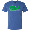 Pucky The Whale Hartford Whalers Inspired Men's Triblend T-Shirt