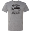 Broad Street Bullies Men's Triblend T-Shirt in Premium Heather