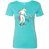 Hockey Unicorn Ladies' Triblend T-Shirt