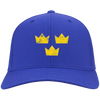 Retro Sweden Hockey Inspired Twill Embroidered Cap
