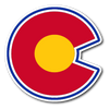 Retro Colorado Rockies Alternative Logo Inspired Sticker