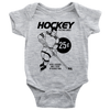 Retro Hockey Wax Packs Infant Bodysuit