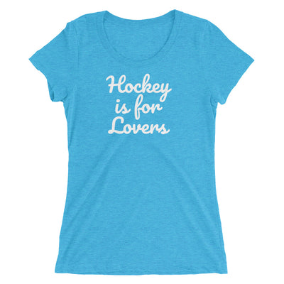 Hockey is for Lovers Ladies' short sleeve t-shirt