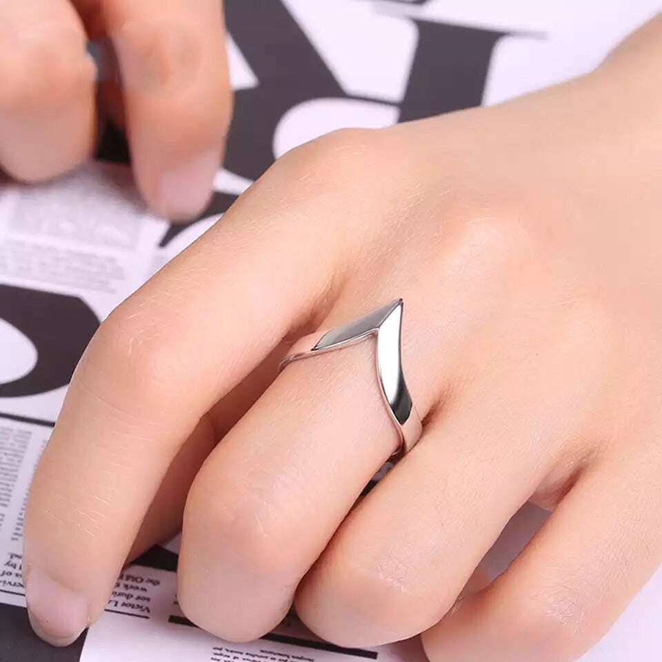 Anillo silver arrow
