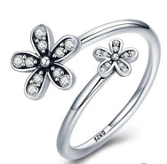 Anillo Two Daisies