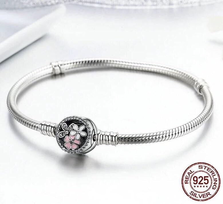 Pulsera Poetic Blooms para charms